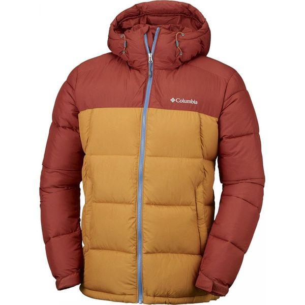 nowe style wspaniały wygląd znana marka COLUMBIA kurtka męska Pike Lake Hooded Jacket Rusty Canyon Gold S