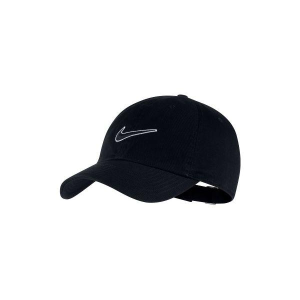 autoryzowana strona piękno szczegóły dla Czapka z daszkiem tenisowa Nike czarna