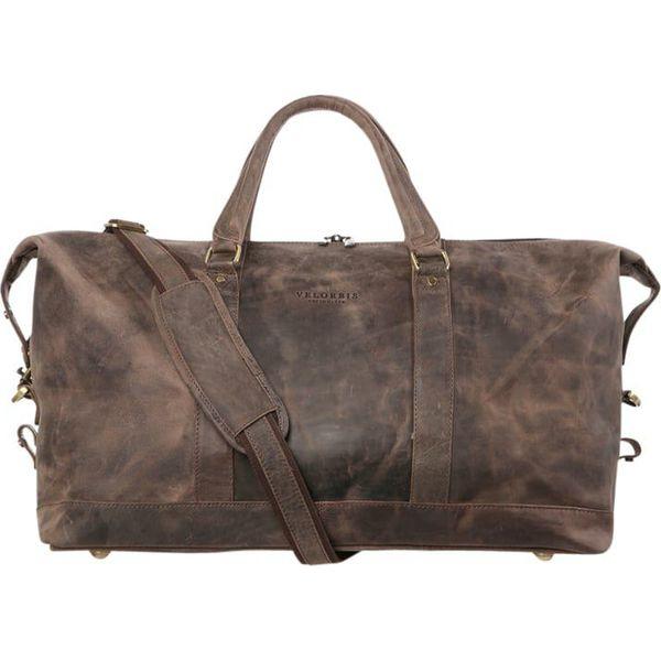 cc4c37e441399 Velorbis Torba weekendowa dark brown - Brązowe torby podróżne damskie marki  Velorbis