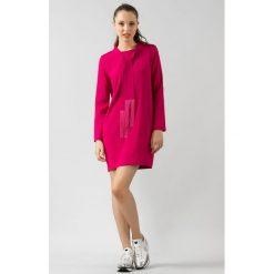 71580c39896c83 Różowa sukienka z długim rękawem. Sukienki damskie Twinset. Za 387.60 zł.