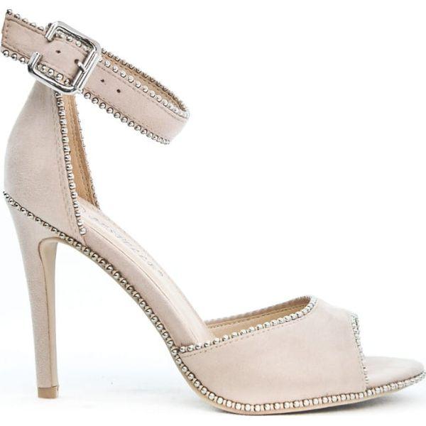 ekstrawaganckie sandały damskie