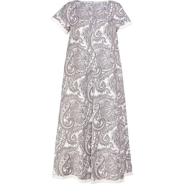 40b3a20420 WEEKEND MaxMara MAZURCA Długa sukienka weiss - Niebieskie sukienki ...