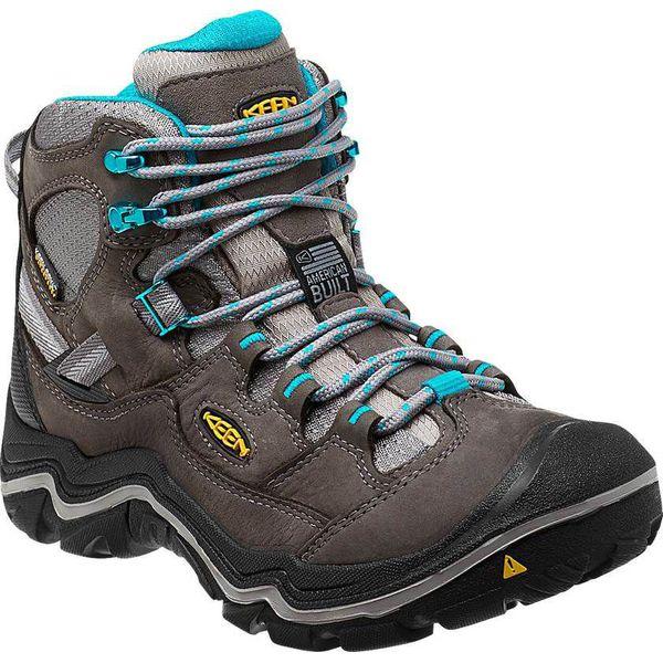 d0b46973 Keen Buty damskie Durand Mid WP Gargoyle/Capri Breeze r. 37 (1013872) -  Czarne obuwie trekkingowe damskie marki Keen. Za 433.42 zł.