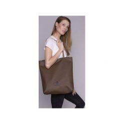 b8402286adc7d Shopper bag brązowa - Shopperki damskie - Kolekcja wiosna 2019 ...