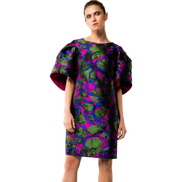 1e3800c7fe Sukienka w kolorze fioletowo-zielonym - Zielone sukienki damskie ...
