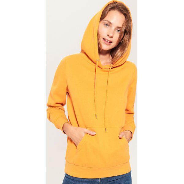 f098d471a4 Bluza z kapturem - Żółty - Żółte bluzy damskie marki House
