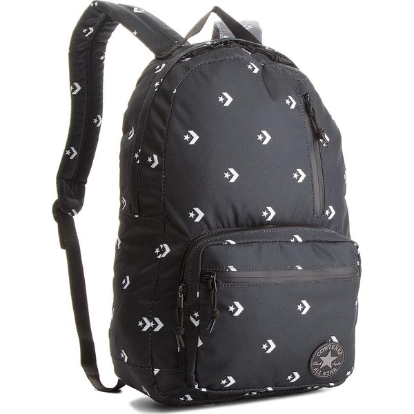 694e51a035b03 Plecak CONVERSE - 10004801-A01 001 - Czarne plecaki męskie marki Converse