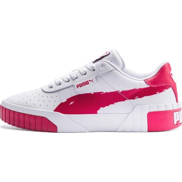 Puma Cali Brushed Tenisówki Różowy Biały