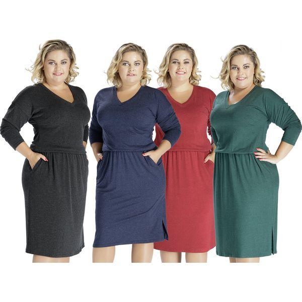 8d9c69e253 Sukienka midi krótka z kieszeniami