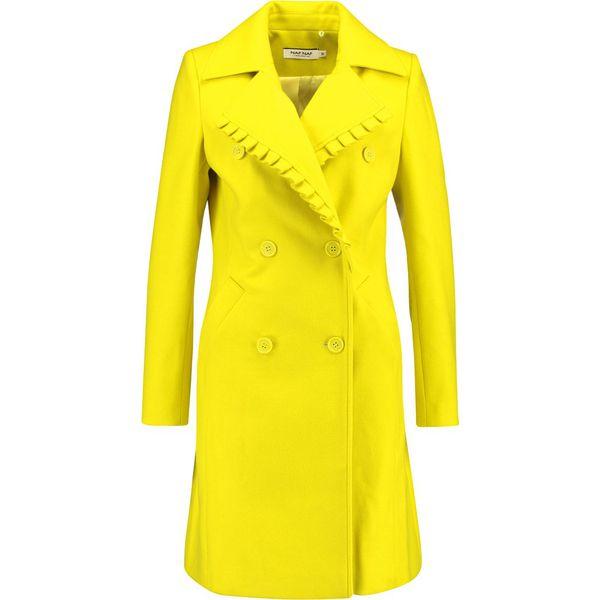 e22892d97d5f NAF NAF Płaszcz wełniany  Płaszcz klasyczny vert lemon - Płaszcze ...