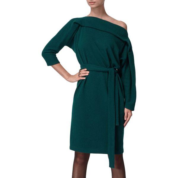 fdef81a3c3 Sukienka w kolorze ciemnozielonym - Zielone sukienki damskie marki ...