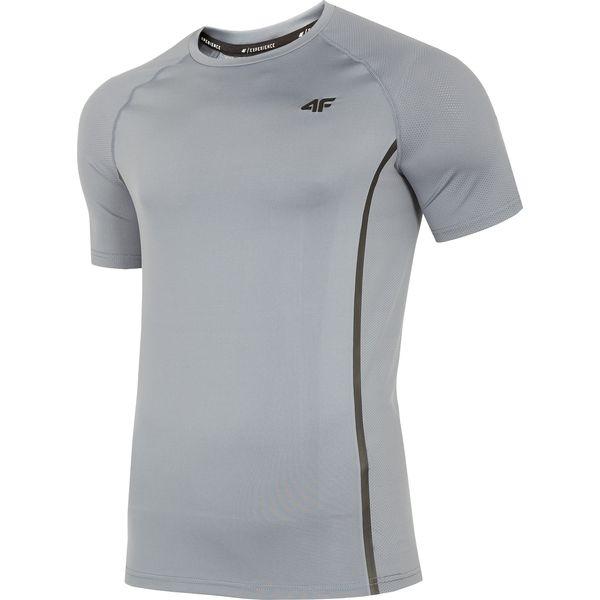 ce83a27b5 Koszulka treningowa męska TSMF273 - średni szary - T-shirty męskie ...