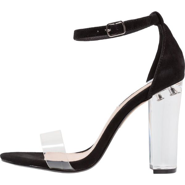 2d68f724430 Steve Madden CHELSEA Sandały na obcasie black - Czarne sandały ...