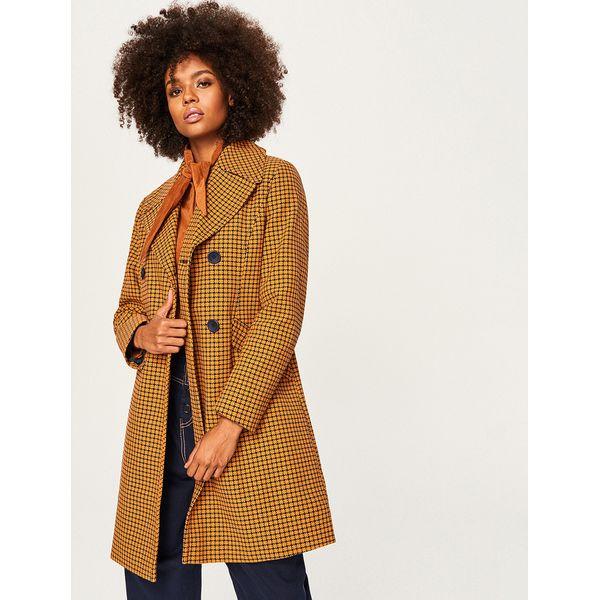 elegantes und robustes Paket attraktive Mode gesamte Sammlung Wzorzysty płaszcz z bawełny - Wielobarwn