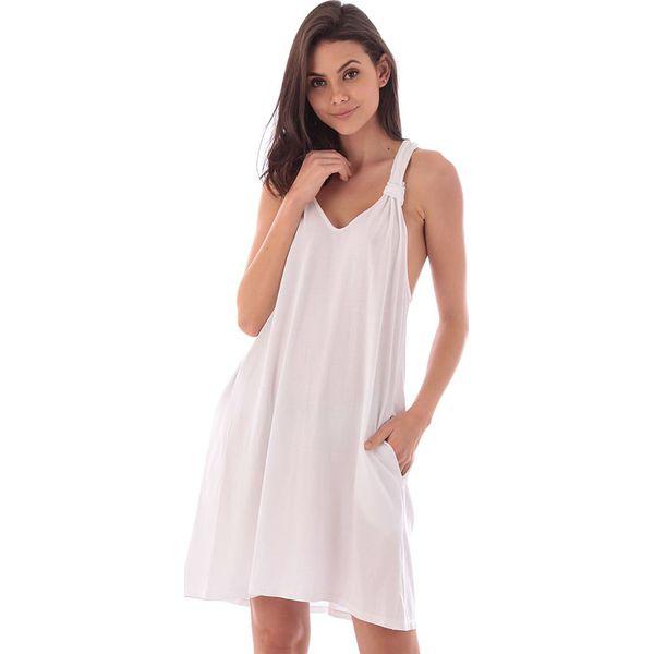 6b5313df8f Sukienka w kolorze białym - Białe sukienki damskie marki Fille de ...
