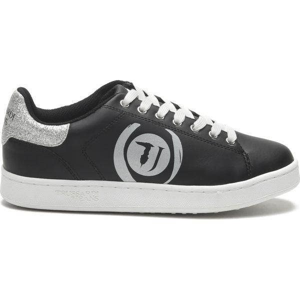 Trussardi Jeans Tenisówki Czarny