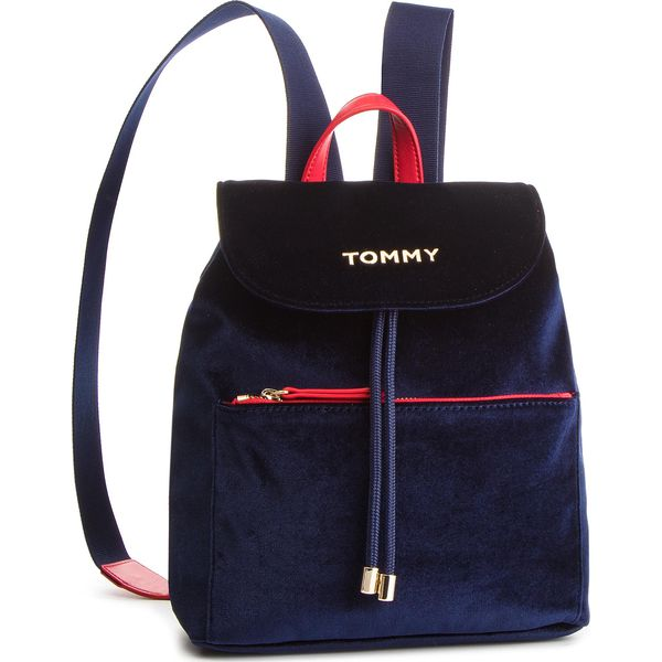 8b60a3146073a0 Plecak TOMMY HILFIGER - Cool Tommy Backpack Velvet AW0AW06254 413 ...