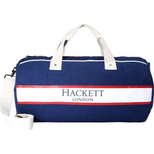 28d597d149672 Hackett London FAWLEY DUFFLE Torba weekendowa navy - Niebieskie torby  podróżne damskie marki Hackett London, małe. W wyprzedaży za 406.45 zł.