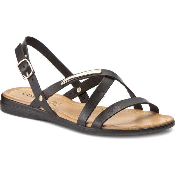 4c6ab4fe4710f Sandały LASOCKI - ARC-0211-02 Czarny - Czarne sandały damskie marki ...