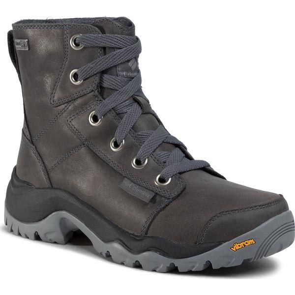 Trekkingi COLUMBIA Camden Outdry Leather Chukka YL5471 GraphiteMonument 053