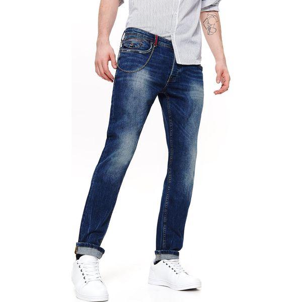 Spodnie denim dopasowane