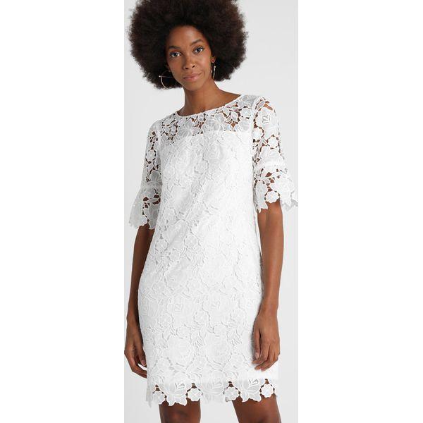 1eb8c0d5a576 s.Oliver BLACK LABEL Sukienka koktajlowa buttermilk - Białe sukienki ...