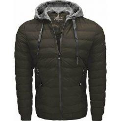 Zielone kurtki i płaszcze męskie Kolekcja zima 2020