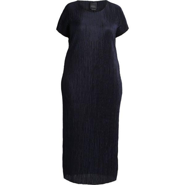 3d32e45bcd0f6 Persona by Marina Rinaldi MIDI DRESS Długa sukienka blu marino ...