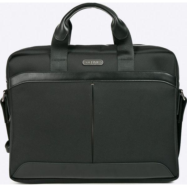 b316d046f1d99 Ochnik - Torba - Czarne torby na laptopa damskie marki Ochnik