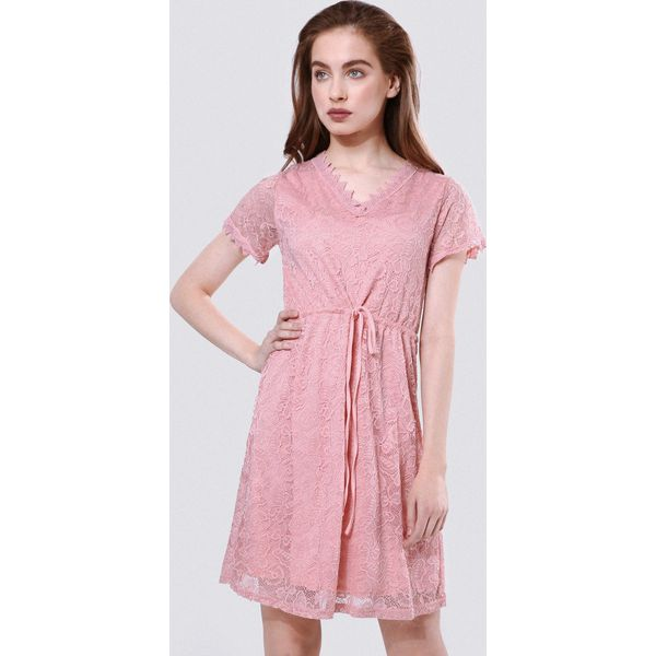 3c00bad09a Różowa Sukienka Be Suggestive Of - Sukienki damskie marki Born2be ...