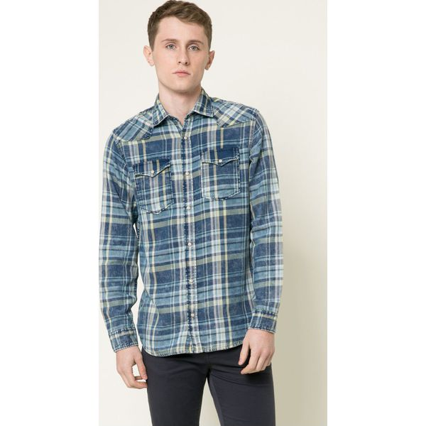 a1935af10eb779 Jack & Jones - Koszula - Szare koszule męskie Jack & Jones, l, w ...