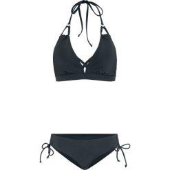2f285817e0410a Bikini z trójkątnymi miseczkami (2 części) bonprix czarny. Czarne bikini  bonprix, bez