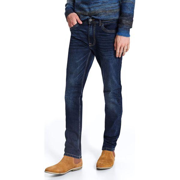 Spodnie denimowe o klasycznym kolorze dopasowane