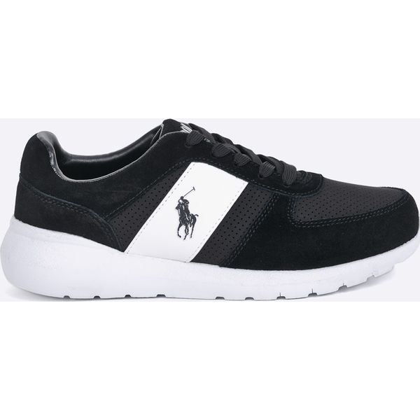 3aebb22152 Polo Ralph Lauren - Buty Cordell - Szare buty sportowe męskie marki ...