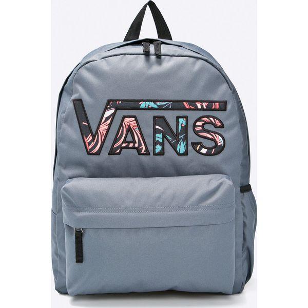 1e63b30859f167 Vans - Plecak - Szare plecaki damskie marki Vans