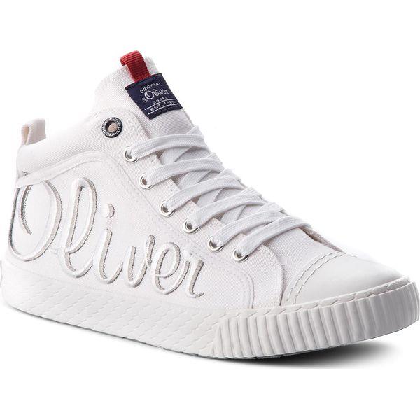 b6eb28295f303 Trampki 15207 Męskie White Marki 20 5 100 S Białe oliver rwZqr1