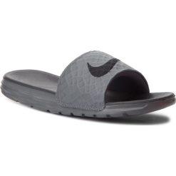 61695d33fb4bb Klapki NIKE - Benassi Solarsoft 705474 090 Dark Grey/Black. Klapki męskie  marki Nike