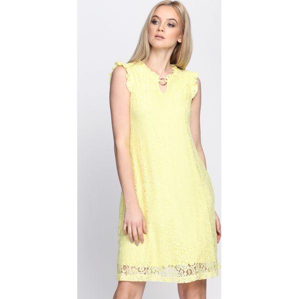 bdf5decb62 Żółta Sukienka Still In Love - Żółte sukienki damskie marki Born2be ...