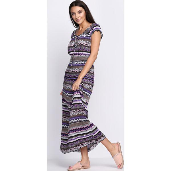 8037e06d97 Fioletowa Sukienka Look Alive - Fioletowe sukienki damskie marki ...