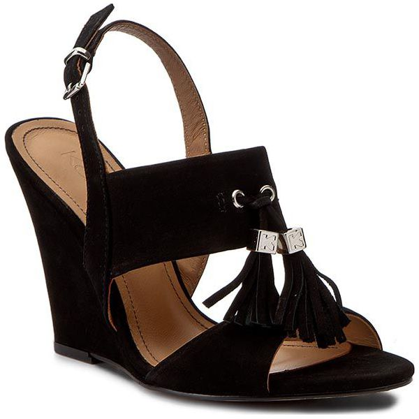 f614669c32cff1 Sandały KAZAR - Arielle 28516-03-00 Czarny - Czarne sandały damskie ...