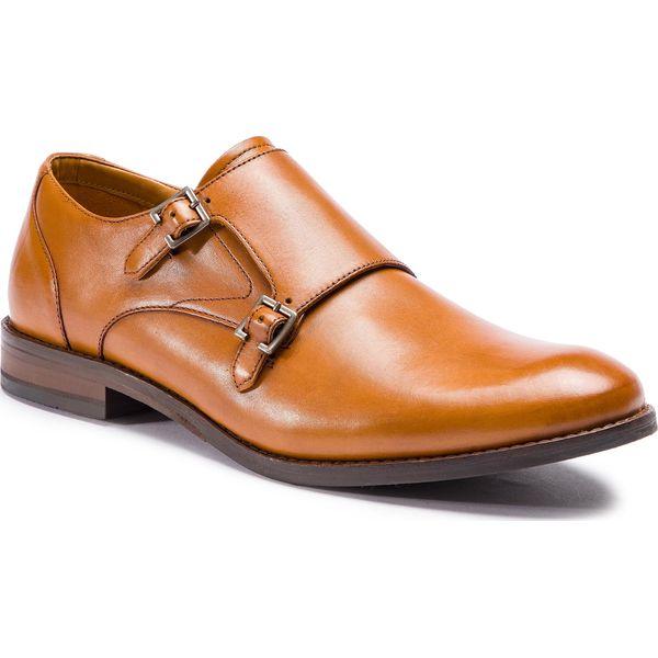 92a9dca5524ce2 Półbuty CLARKS - Edward Monk 261395527 Tan Leather - Buty wizytowe ...