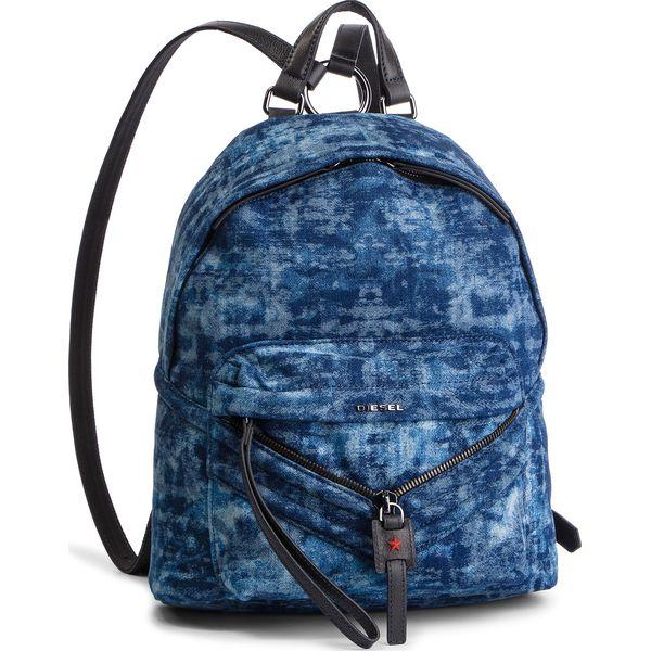 9f154f870021c Plecak DIESEL - Le-Zipper Backpack X05882 PS315 H4933 - Niebieskie plecaki damskie  marki Diesel