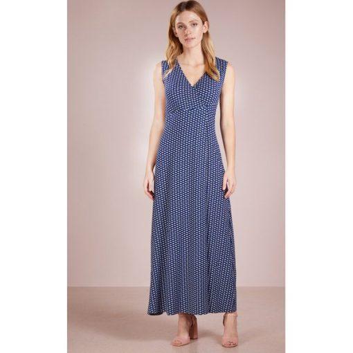 753d89f809 WEEKEND MaxMara ECHI Długa sukienka ultramarine - Sklep Radio ZET