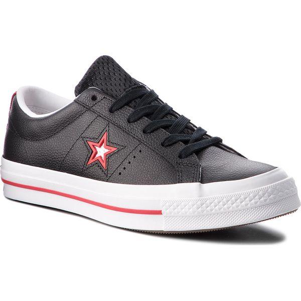 3d73752bf4e4d Tenisówki CONVERSE - One Star Ox 161563C Black/Converse Red/White ...