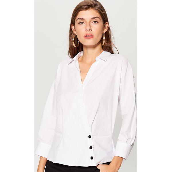 6654d0064 Koszula kimono - Biały - Koszule damskie Mohito. W wyprzedaży za ...