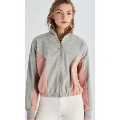 19a2b3cd1a Bluza rozpinana - Jasny szar. Bluzy damskie marki Sinsay. W wyprzedaży za  29.99 zł