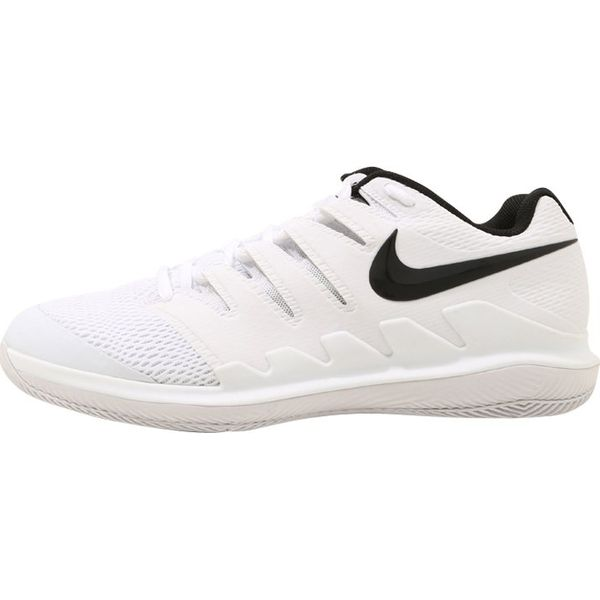 Nike Performance AIR ZOOM VAPOR X HC Obuwie multicourt whiteblack vastgrey summit white
