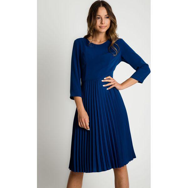 5eae5e7030 Sukienka z plisowanym dołem BIALCON - Sukienki damskie marki BIALCON ...