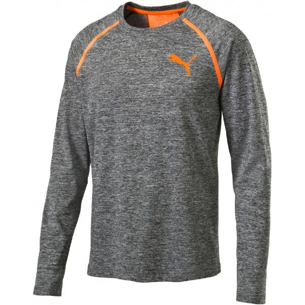 b495b30a3 Puma Koszulka Sportowa Bonded Tech Ls Tee Dark Gray L - Koszulki ...