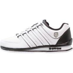 d21f1321 KSWISS RINZLER Tenisówki i Trampki white/black. Białe buty sportowe męskie  marki K- ...